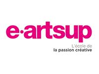 Ecole e-artsup - Logo