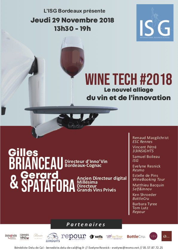ISg Bordeaux - Wine Tech 2108