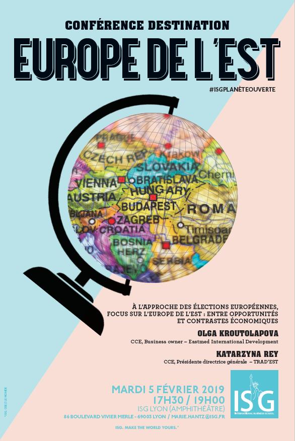 Conférence à l'ISG Lyon - « Europe de l'Est : opportunités et contrastes économiques »