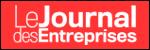 Logo du Journal des Entreprises - Newsroom IONIS Education Group