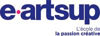 Logo e-artsup - L'école de la passion créative