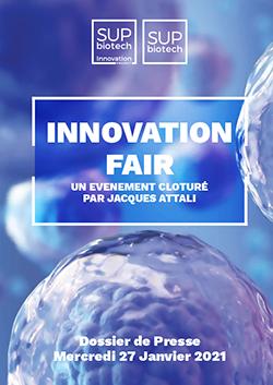 Dossier de Presse - Innovation Fair - Sup'Biotech